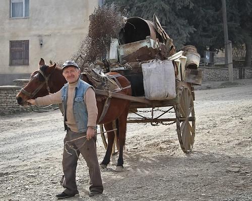 Jugaani Horse and Cart