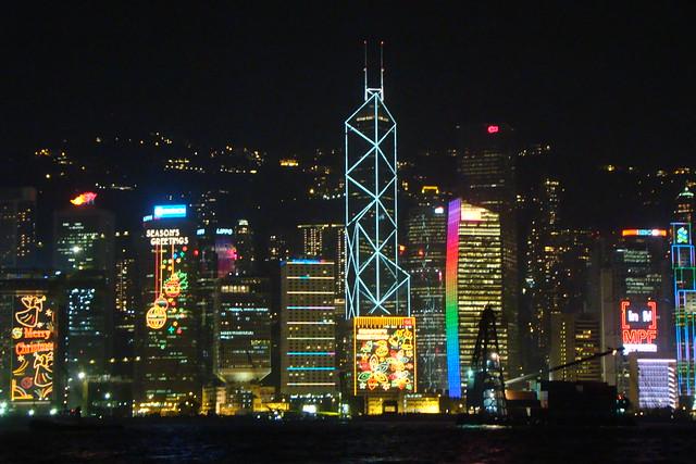 Hong Kong ~ at Christmas by Vasenka, on Flickr