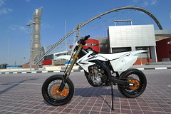 Supermoto Honda CRF 450
