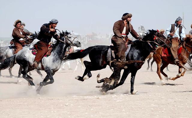 Buzkashi in Afg...
