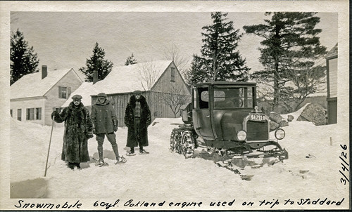 road old winter people blackandwhite bw usa house snow cold building cars landscape outside photo blackwhite interesting flickr exterior image shots outdoor hiking snowy country tracks picture engine newengland machine newhampshire places whitemountains nh scanned historical gears groupshot scenes gundersen livefreeordie lakesunapee greatnorthwoods bobgundersen robertgundersen