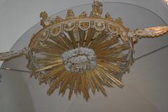 symmetry, ceiling, chandelier, lighting,