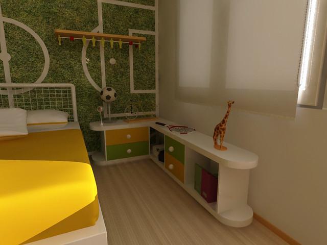 Dise o de cuarto de ni os muebles infantiles flickr - Habitaciones decoradas para ninos ...