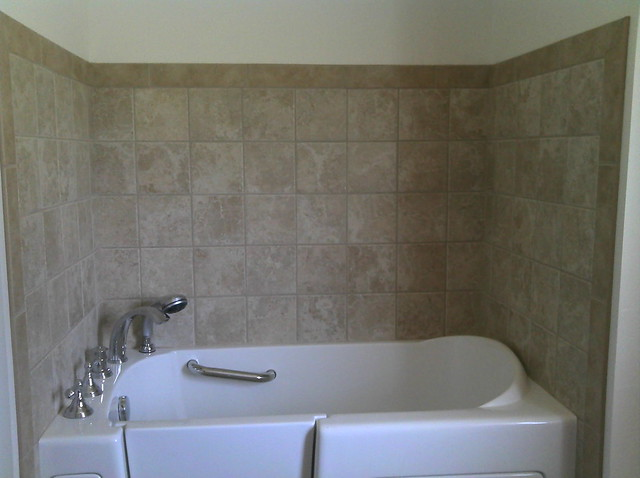 Acrylic Bathtub Surround. Best Mirabelle White Soaker Tub Bathroom ...