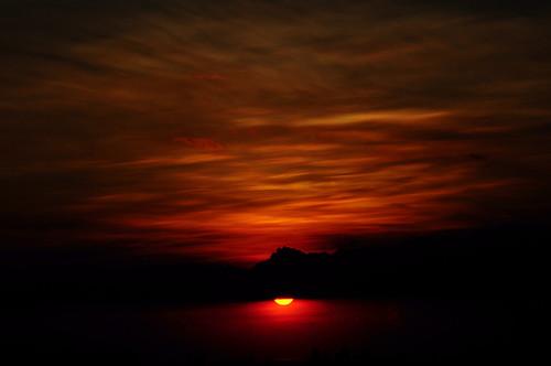 sunset orange sun nikon nikkor antipolo d300s 0200vrii