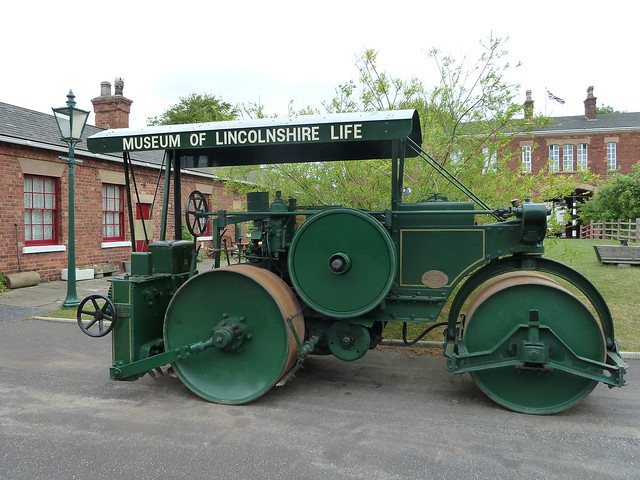 'Violet' Aveling-Barford AD670  DX6 TL 8524 Diesel Road Roller Museum of Lincolnshire Life Lincoln