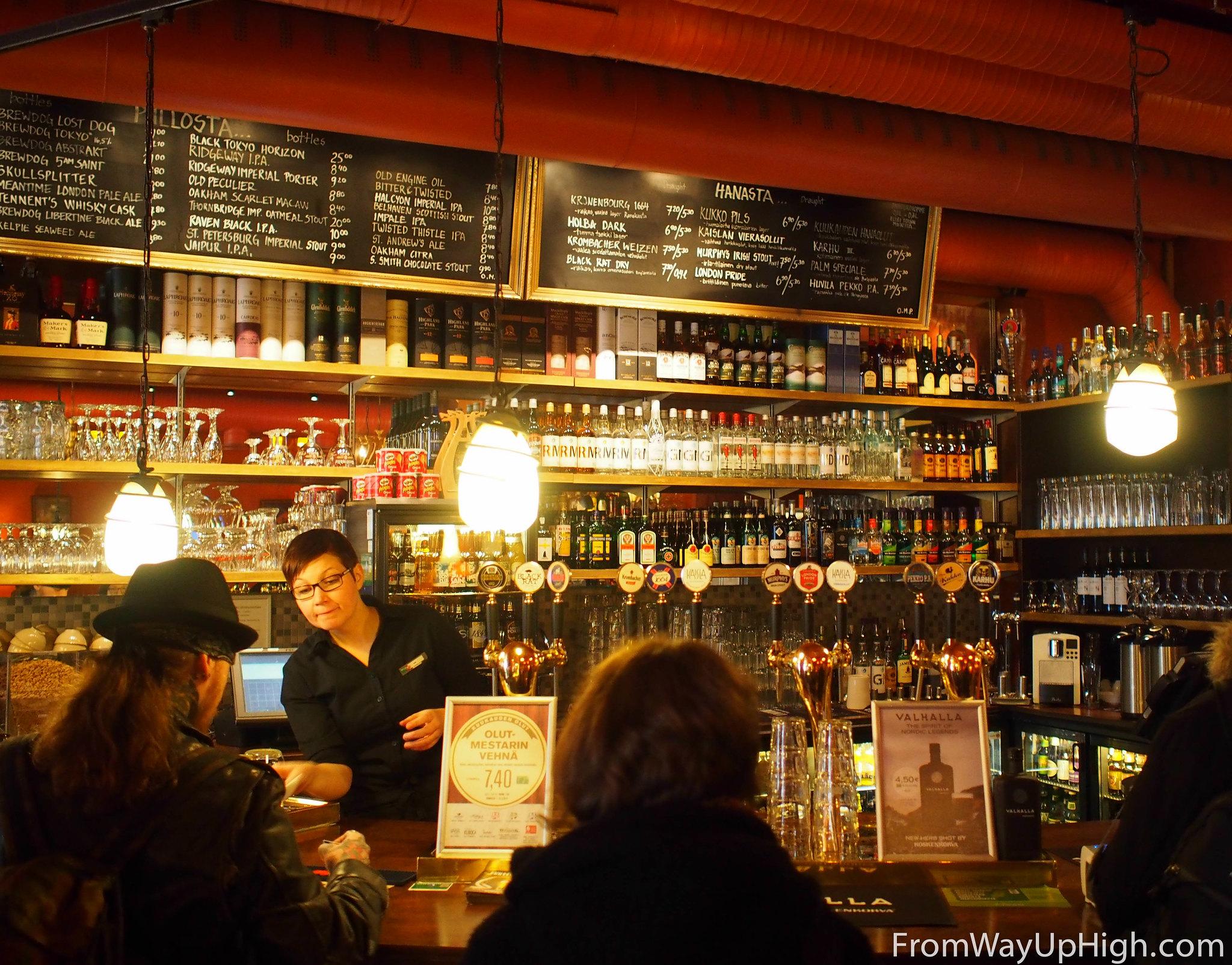 Helsinki bars