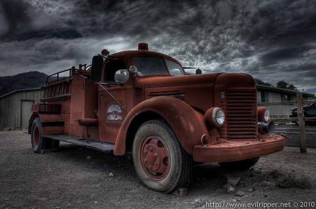 Firetruck Death valley