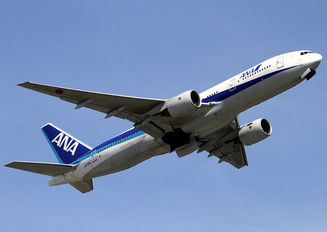Boeing | 777-281/ER | All Nippon Airways | JA707A | Hong Kong | HKG | VHHH