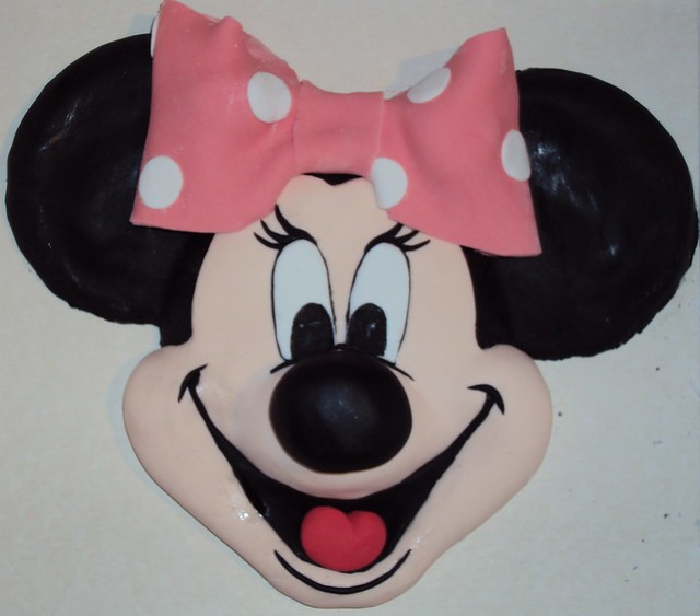 Minnie Mouse Cake Topper Images : Minnie Mouse Cake topper in 3D! Flickr - Photo Sharing!
