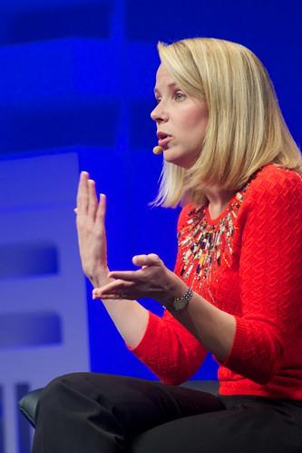 Marissa Mayer PDG de Yahoo