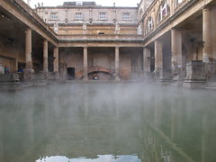 ancient history(1.0), ancient rome(1.0), reflection(1.0), thermae(1.0),