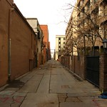 Alley, Downtown Albuquerque, New Mexico