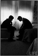 JFK and RFK, by Hank Walker 1960