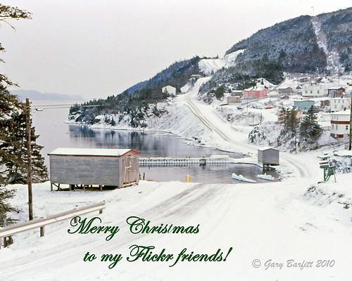 christmas newfoundland scenery longbeach trinitybay