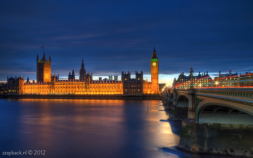 To HDR... / Westminster Palace / London