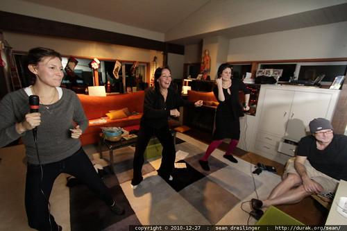family karaoke & dance extravaganza