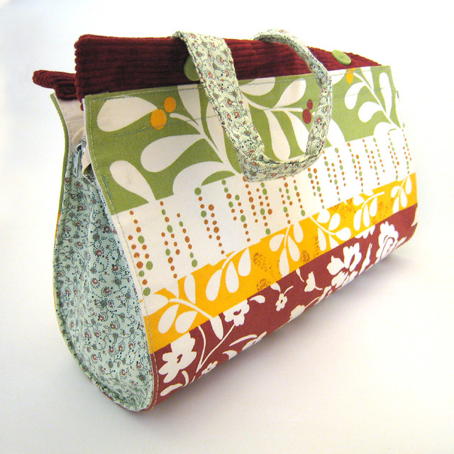 Placemat Purse : Purse made from Upcycled Placemat Flickr - Photo Sharing!
