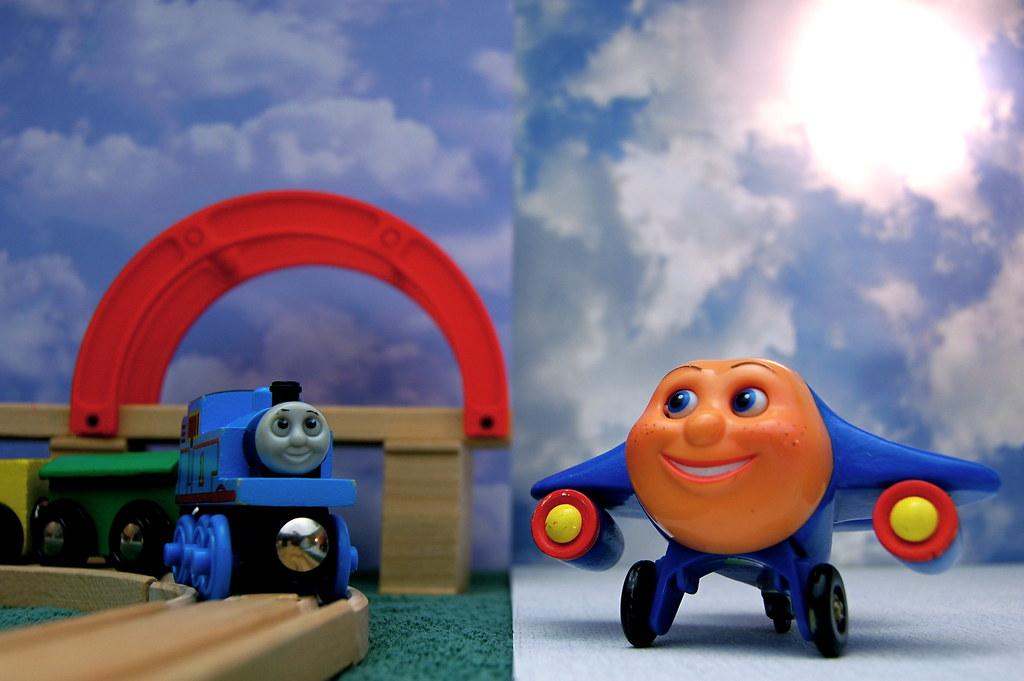 Thomas the Tank Engine vs. Jay Jay the Jet Plane (363/365)
