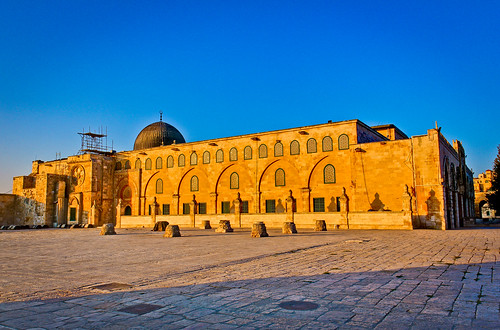 old blue light sky orange sun building beautiful architecture sunrise canon religious temple israel is site ancient place palestine muslim islam jerusalem prayer middleeast mosque historic mount holy usm muslims spiritual f28 hdr sanctuary oldcity masjid noble alaqsa 1755 550d masgid t2i