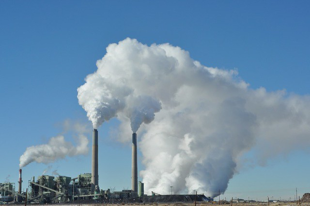 a coal power plant in New Mexico