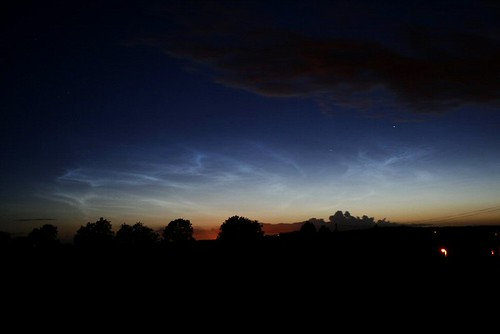 Noctilucent Clouds.