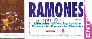Ramones. Oviedo 1993