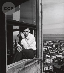 Self Portrait, San Francisco, by John Gutmann 1934