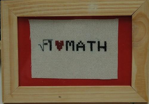 math cross stitch
