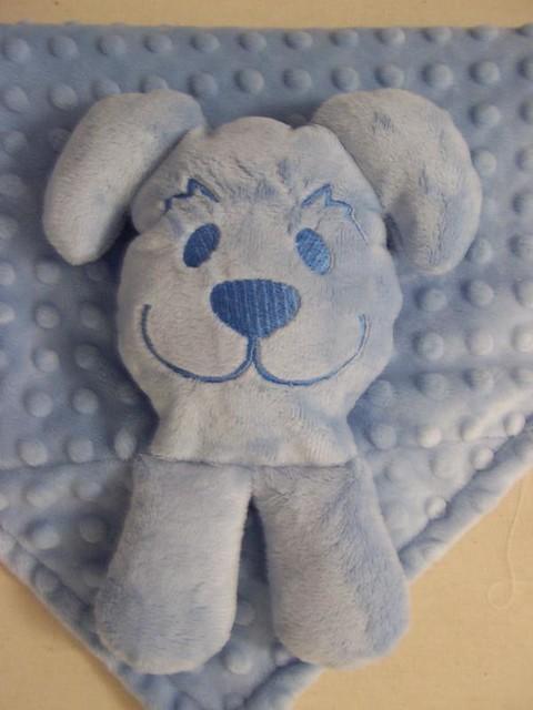 Hankie Blankie - Blue Puppy