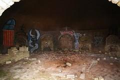 ancient history(0.0), christmas decoration(0.0), nativity scene(0.0), crypt(1.0),