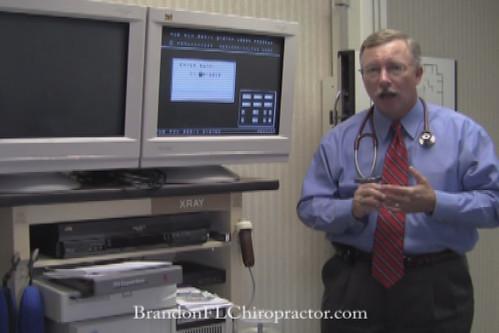 Brandon Chiropractor Dr. Steve Wilson Digital X-ray Lab