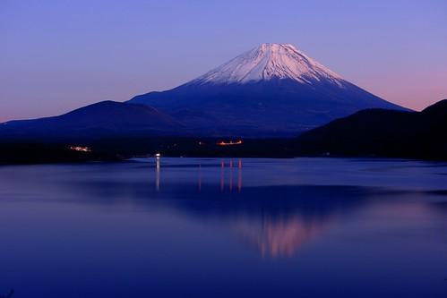 japan landscape evening explore 日本 富士山 hdr mtfuji 夕方 motosu 本栖湖 赤富士 富士河口湖町 dslra700 sal35f18