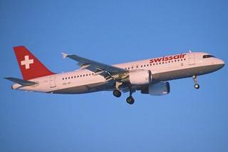 1ag - Swissair Airbus A320-214; HB-IJP@ZRH;06.12.1997