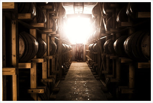 wyoming whiskey barrel room