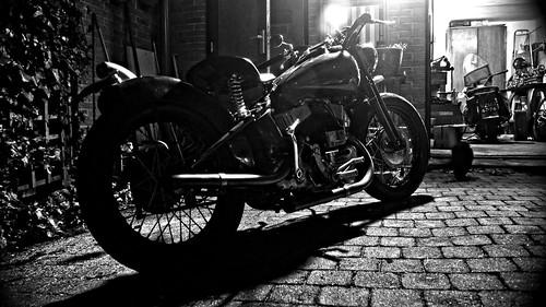 Harley-Davidson WLK + WLA 1942 by Erik B Photography