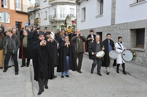 Procesión de San Antón en la edición del 2011. Foto Pedro Merino