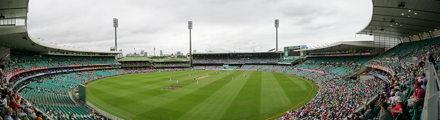 New Year's Test Match at Sydney Cricket Ground, Sydney, New South Wales, Australia