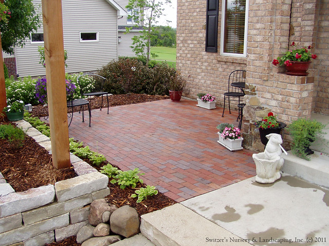 Front Entry Garden Room Charming Front Yard Patio