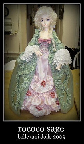 green and pink rococo 3