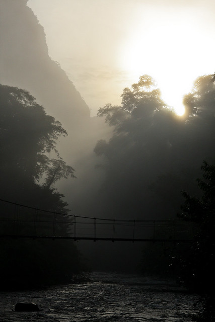 Dawn at Mulu
