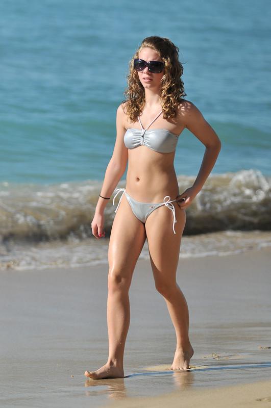 Miami Beach Bikini Blonde Boat