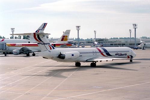 Air Liberté MD-83; F-GHEK@ORY;06.08.1996