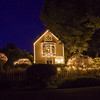 Rita Crane Photography: Christmas / Christmas lights / Mendocino / vintage / night / December Lights, Mendocino Village by Rita Crane Photography