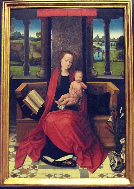 Hans Memling: Virgin and Child