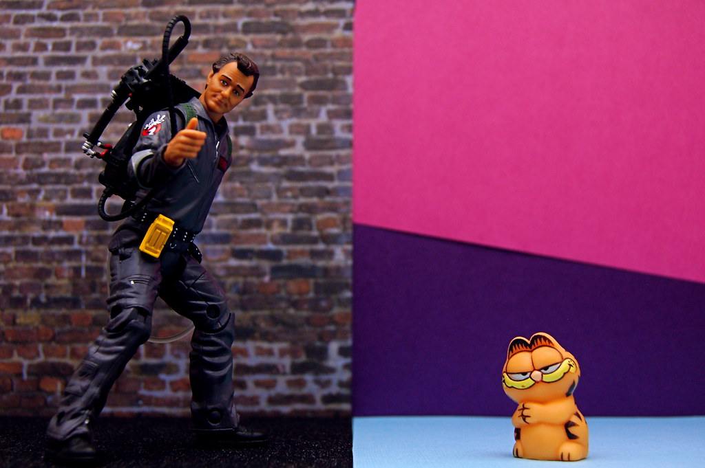 Dr. Peter Venkman vs. Garfield (339/365)