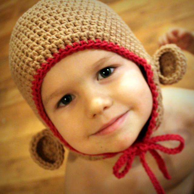 Free Crochet Pattern Monkey Hat