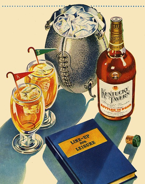 Line-Up For Leisure, 1946; Image courtesy of Paul Malon on Flickr.com
