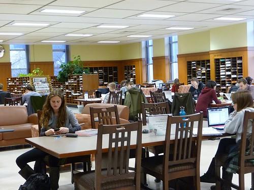 Periodicals Room, UW Madison Memorial Library