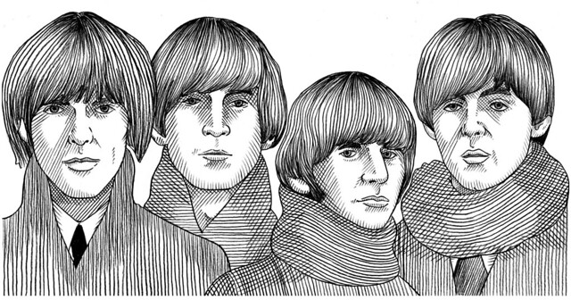 Gran Tour : Beatles (portrait)
